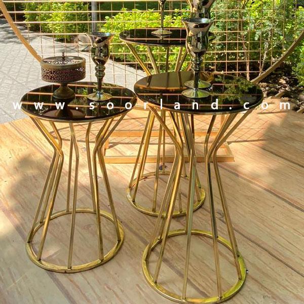 اجاره میزهای سوارز طلایی