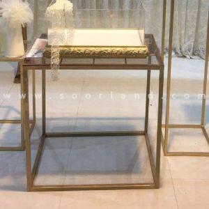 میز طلایی تو خالی